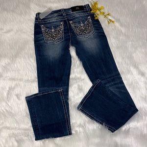 Miss Me Standard Boot Cut Denim Jeans| Sz 27